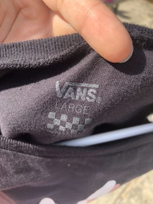 Vans, shirt. for Sale in Holly Springs, NC