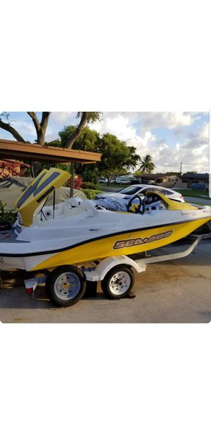 2004 Seadoo Sportster jet boat asking $6,500 or best offer ready for the water for Sale in Pembroke Park, FL