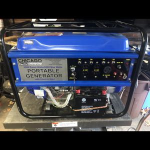 Chicago Electric 5500 Watt Generator for Sale in Springfield, MA