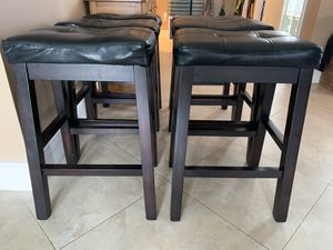 "26"" bar stools (set of 6) for Sale in Miami, FL"