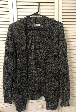 Black and white mesh cardigan for Sale in Kissimmee, FL