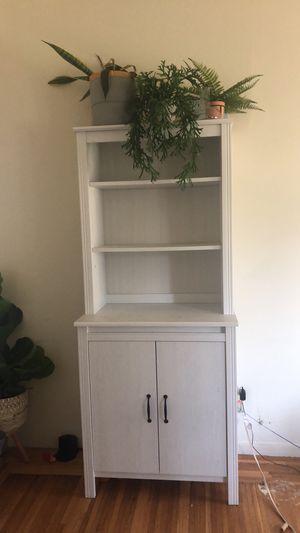 Bookcase (white/gray) for Sale in Alameda, CA