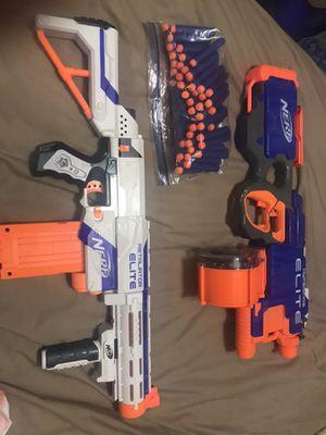 Nerf Guns + bullets for Sale in St. Petersburg, FL