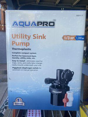 Utility sink pump for Sale in San Diego, CA