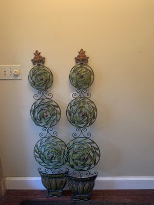 Decorative metal topiaries for Sale in Longwood, FL