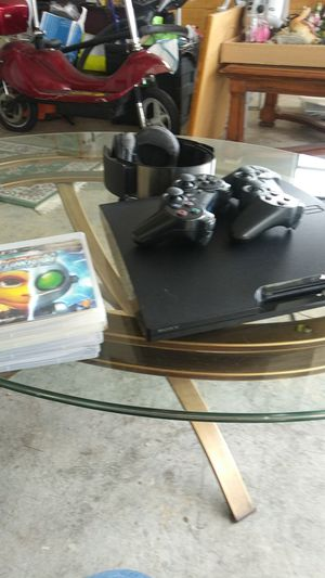 PS3 SONY With 4 Games for Sale in Port St. Lucie, FL