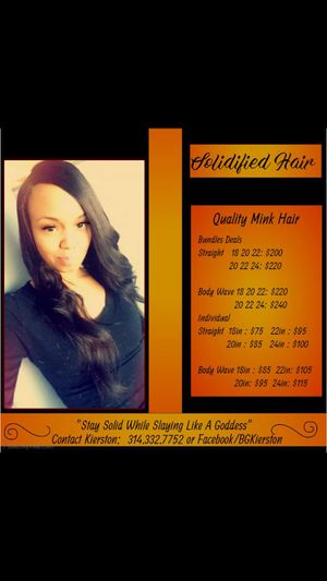 Solidified Hair Collection for Sale in St. Louis, MO