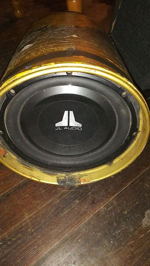 "10"" JL audio subwoofer for Sale in Louisville, KY"