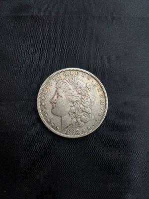 1987 Morgan Silver Dollar Coin for Sale in Los Angeles, CA