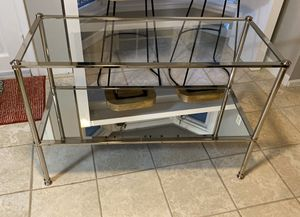 Glass sofa table for Sale in St. Louis, MO
