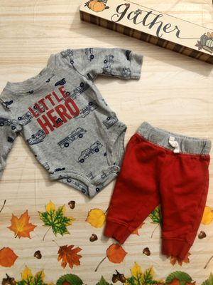 NWOT Newborn Little Hero Outfit for Sale in Gresham, OR