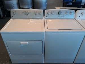 NEWER WASHER AND DRYER BY KENMORE for Sale in Edgewater, FL