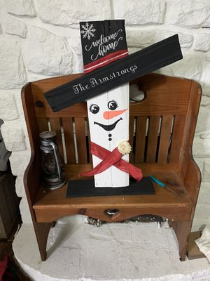 CUSTOMIZED SNOWMEN FORSALE for Sale in South Charleston, WV