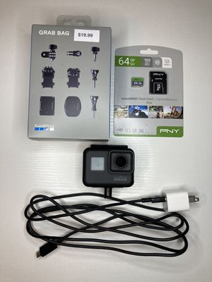 GoPro hero 5 black with sd card and accessories for Sale in Sandy, OR