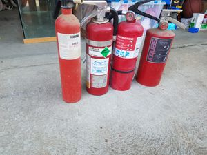 4 firer extinguishers! for Sale in Fresno, CA