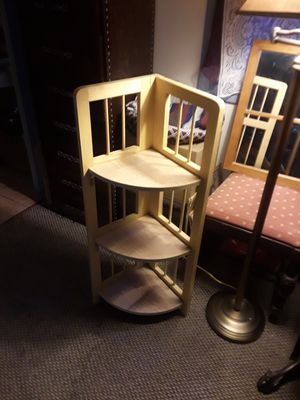 Small Wood 3 Tier Collapsible Shelf for Sale in Pittsburg, CA
