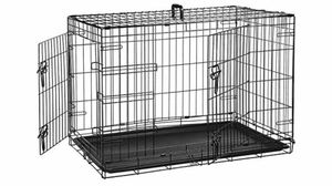 """Dog Crate double door 36"""" with crate cover for Sale in San Pablo, CA"""