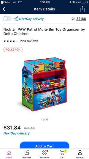 Toy box new in box for Sale in New Smyrna Beach, FL