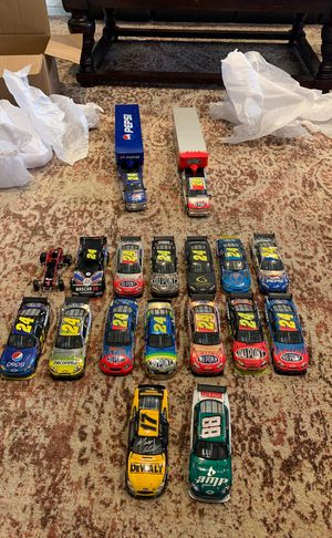 Jeff Gordon NASCAR authentic collectible model cars for Sale in Tampa, FL