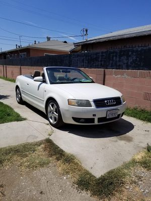 trade for other car 2002 & up for 100% running audi 2004 convertible 3.0 v6 gas saver for Sale in Downey, CA