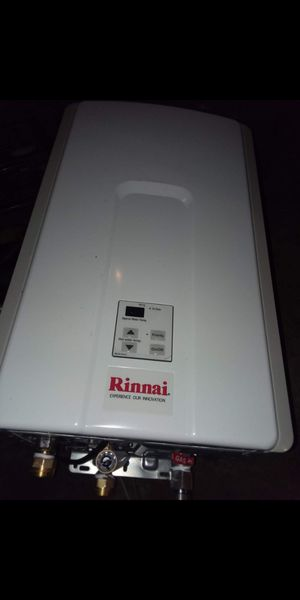 Brand New Rinnai Tankless Water Heater for Sale in Dallas, TX
