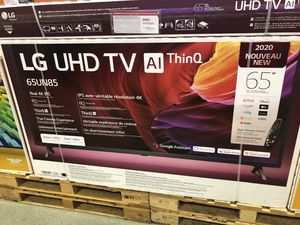 LG 65 inch 4K TV smart 120 Hz 2020 mode 65un8500 for Sale in Huntington Park, CA
