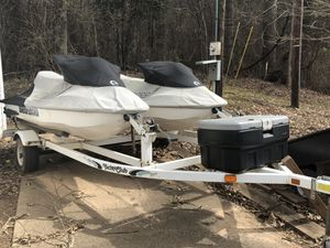 Jet skis with trailer for Sale in Boyce, LA