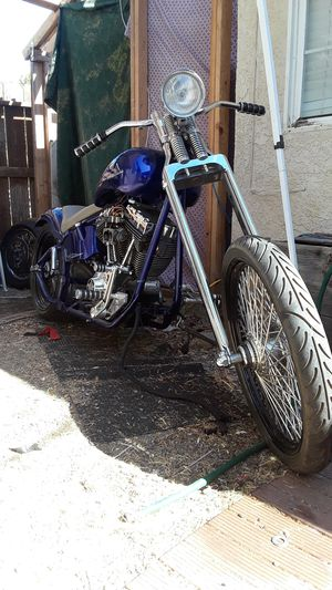 Purple Softail Chopper 103 in for Sale in Vacaville, CA