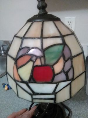 Vintage stainglass lamp for Sale in Knoxville, TN
