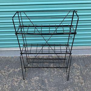 Outdoor Metal Storage Rack for Sale in Garden Grove, CA