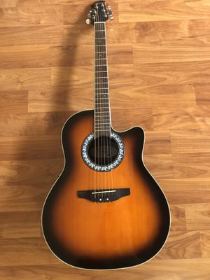 Ovation Celebrity Full Size Acoustic & Electric Guitar for Sale in Newark, CA