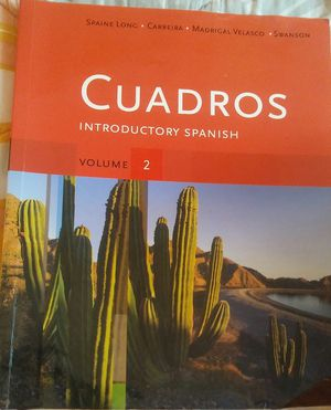 Cuadros: Introductory Spanish for Sale in San Diego, CA
