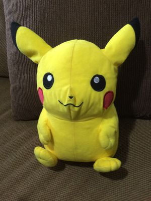 PIKACHU STUFFED ANIMAL * CHECK OUT ALL MY OFFERS * SERIOUS BUYERS PLEASE for Sale in South Miami, FL