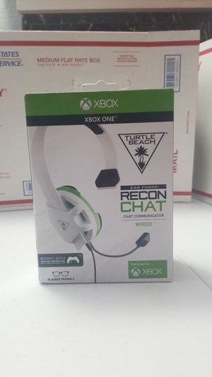 Turtle Beach Recon Chat Headset Xbox One for Sale in Newark, CA