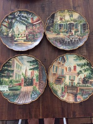 Hand painted/signed plates for Sale in Apex, NC
