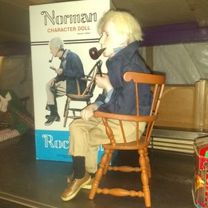 Norman Rockwell Character Doll for Sale in Las Vegas, NV