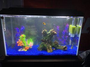 Full set 30g Fish tank!!! for Sale in Santa Ana, CA