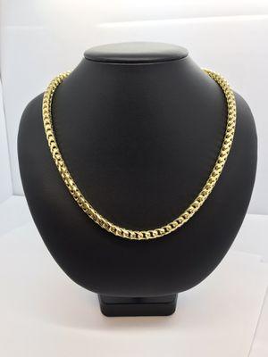 14k Gold Franco Chain New for Sale in Renton, WA