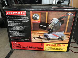 Miter saw for Sale in North Redington Beach, FL