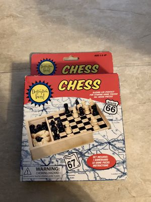 Travel Size Chess for Sale in Walnut, CA