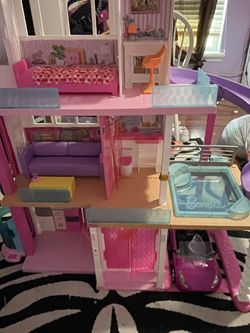 Barbie Doll House Fully Furnished With Car for Sale in Winter Haven,  FL