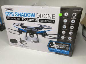 Promark: GPS Shadow Drone - Premier GPS-Enabled Drone with Follow Me Technology - 6-Axis Gyroscope for Panoramic Shots - Lithium Batteries Included - for Sale in Orlando, FL