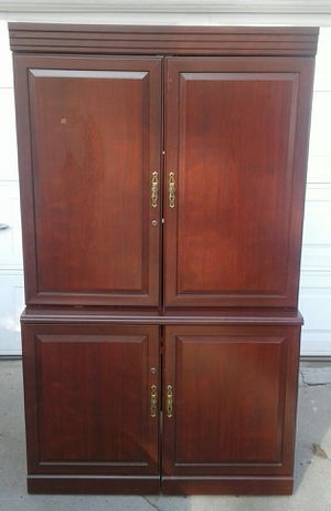 Entertainment Center Cabinet for Sale in Long Beach, CA