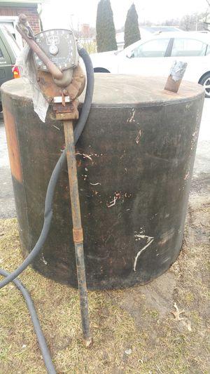 Diesel fuel tank with pump for Sale in Mertztown, PA