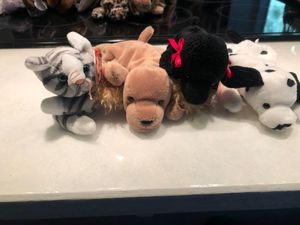 Dog and cat set beanie babies for Sale in Kent, WA