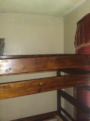 Newer wood bunk bed for Sale in Tullahoma, TN