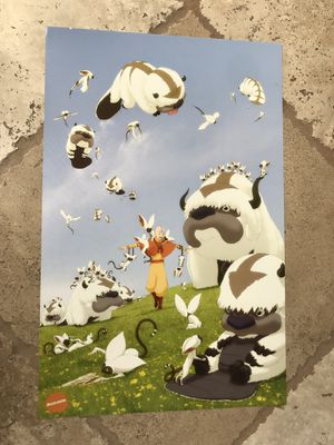 """Avatar """"Appa"""" poster SDCC 2009!!! SUPER RARE for Sale in San Diego, CA"""