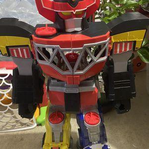 Fisher-Price Imaginext Power Rangers Morphin Megazord included Red Ranger for Sale in Arlington, VA