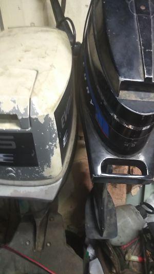 15 horsepower Evinrude 4 .5 horsepower Merc. for Sale in Celina, TX