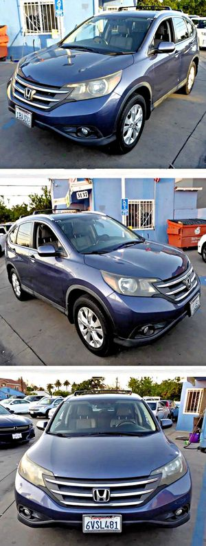 2012 Honda CRV EXL 4WD 5-Speed AT for Sale in South Gate, CA